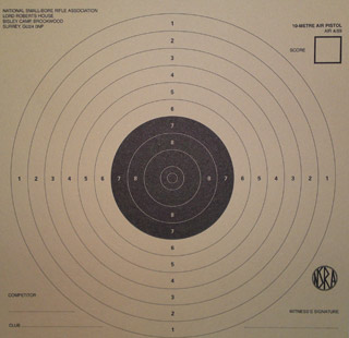 Air pistol 10m