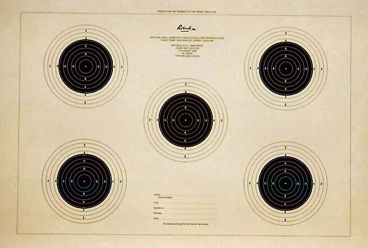 Smallbore 25yds Kneeling