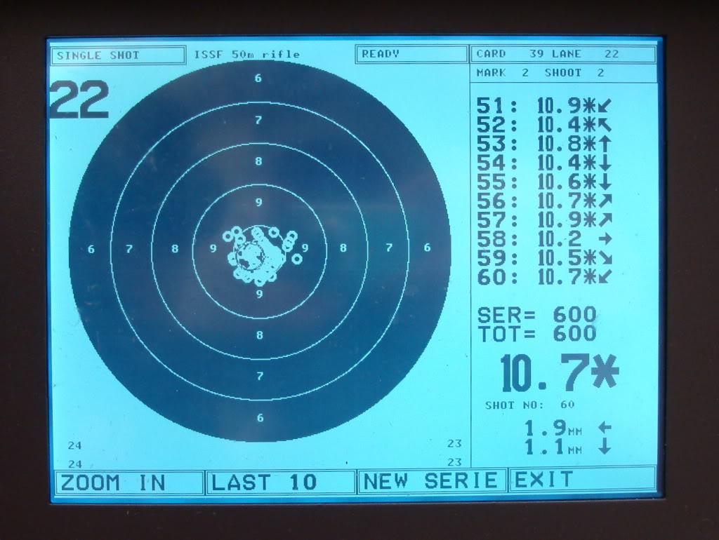 Targets used for Smallbore Shooting | Isle of Wight Target
