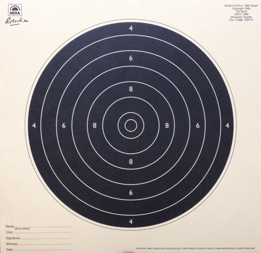 Smallbore 100yds