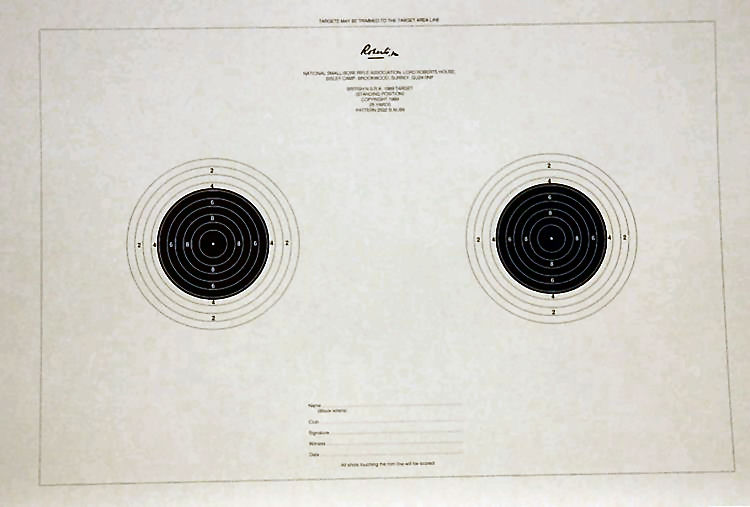Smallbore 25yds Standing