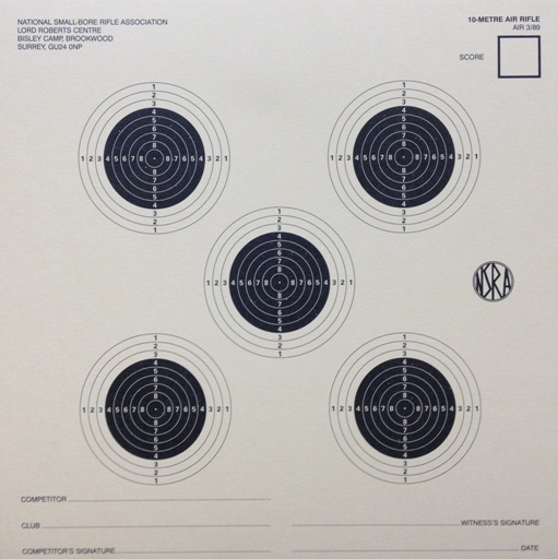Air rifle 10m