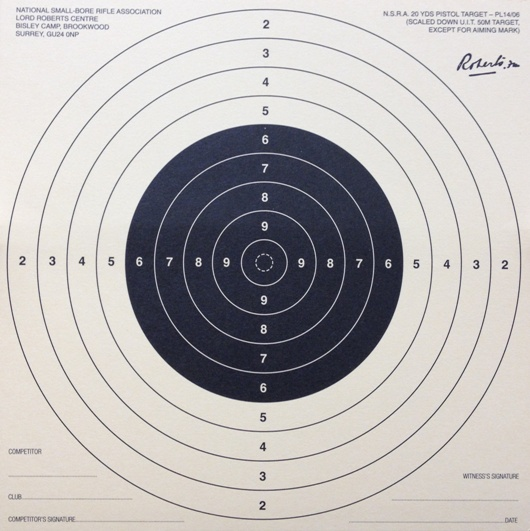 Smallbore Sporting Rifle 20Yds